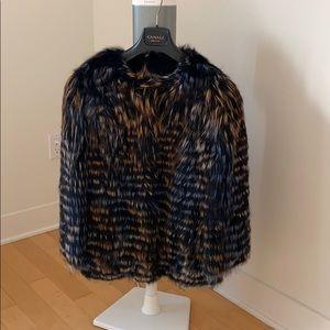Fox fur jacket size M